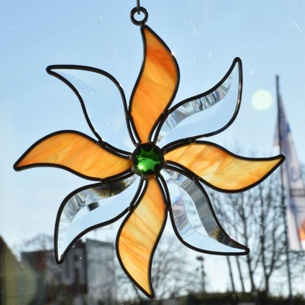 Blume klein gelb/orange
